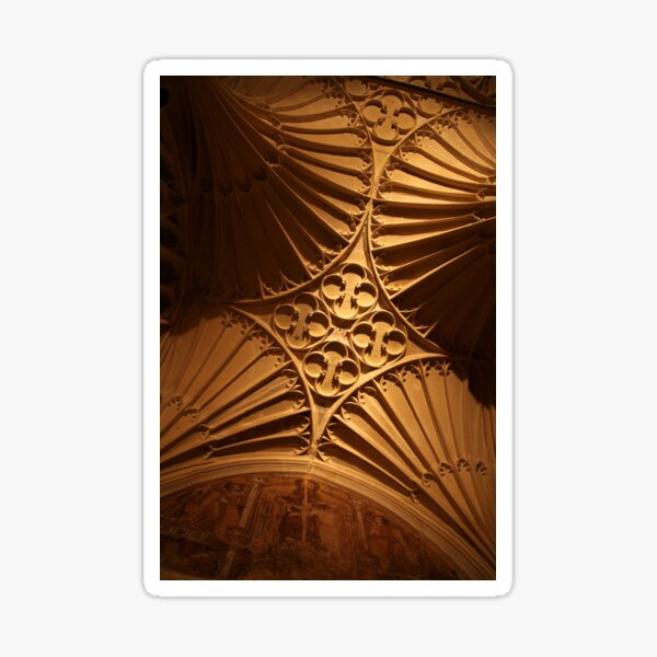 Tewkesbury Abbey - Vaulted Ceiling Sticker