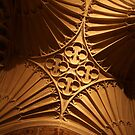 Tewkesbury Abbey - Vaulted Ceiling by John Dalkin