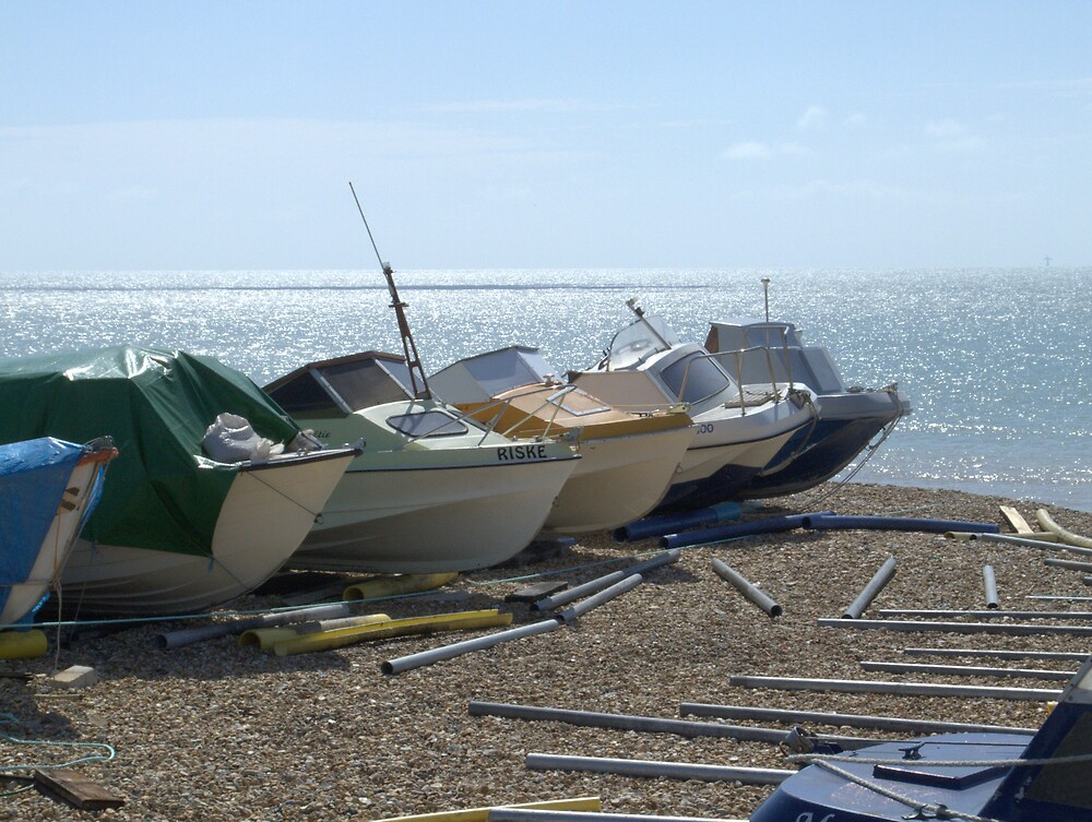 Boats by John Thurgood