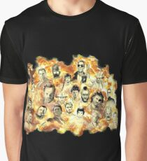 Action Movies Graphic T-Shirt