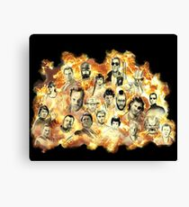 Action Movies Canvas Print