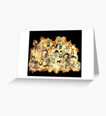 Action Movies Greeting Card