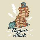 Moto Flapjack Attack  by Amanda Zito