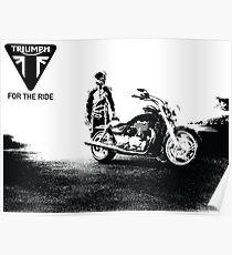 Triumph cruiser Poster
