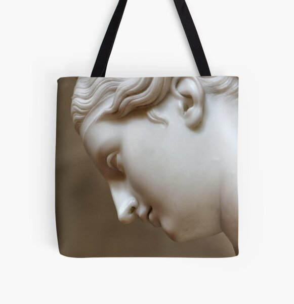 Classical Contemplation All Over Print Tote Bag