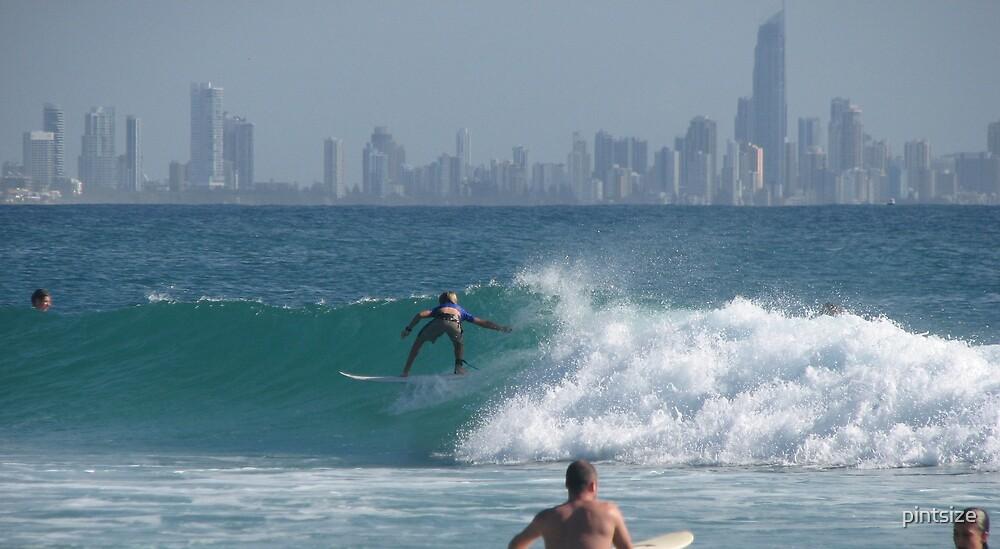 CITY SURFER by pintsize