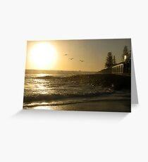 BURLEIGH BEACH Greeting Card