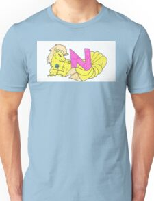 N is for Nine tails Unisex T-Shirt