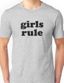 girls rule Unisex T-Shirt
