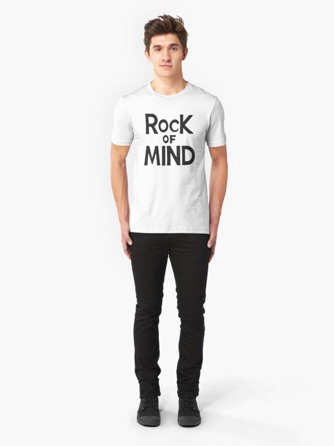 Alternative Ansicht von rock of mind Slim Fit T-Shirt