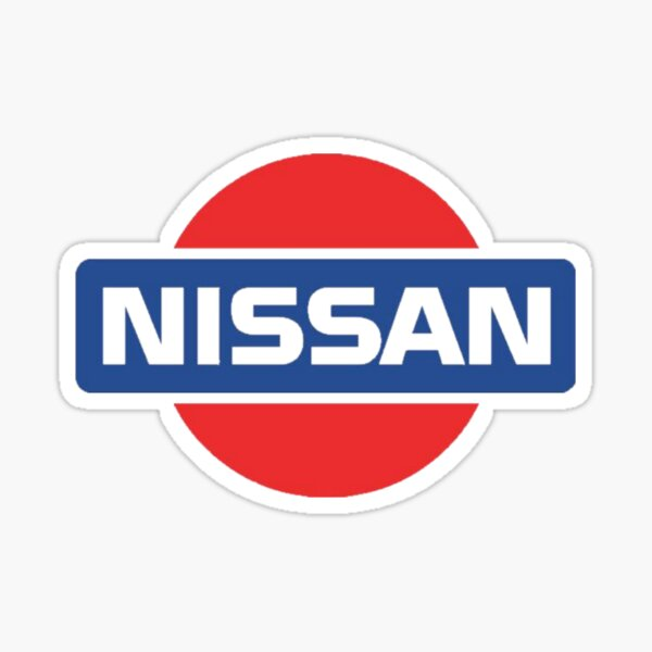 Old School Nissan Sticker