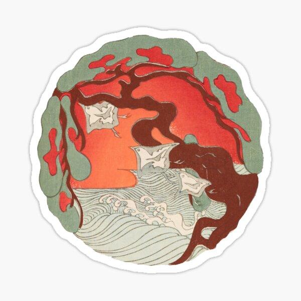 Waterside Tree Sticker