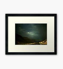 Utah Storm Framed Print