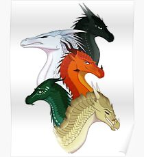 Wings of Fire Second Arc Main Characters Poster
