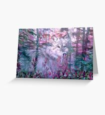 Forest Ghost Greeting Card