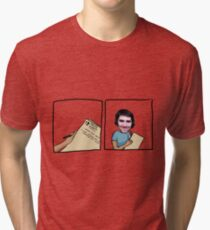 Melee Is Scripted Tri-blend T-Shirt