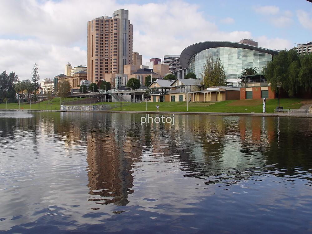 photoj Sth Australia- Adelaide City River Torrens by photoj