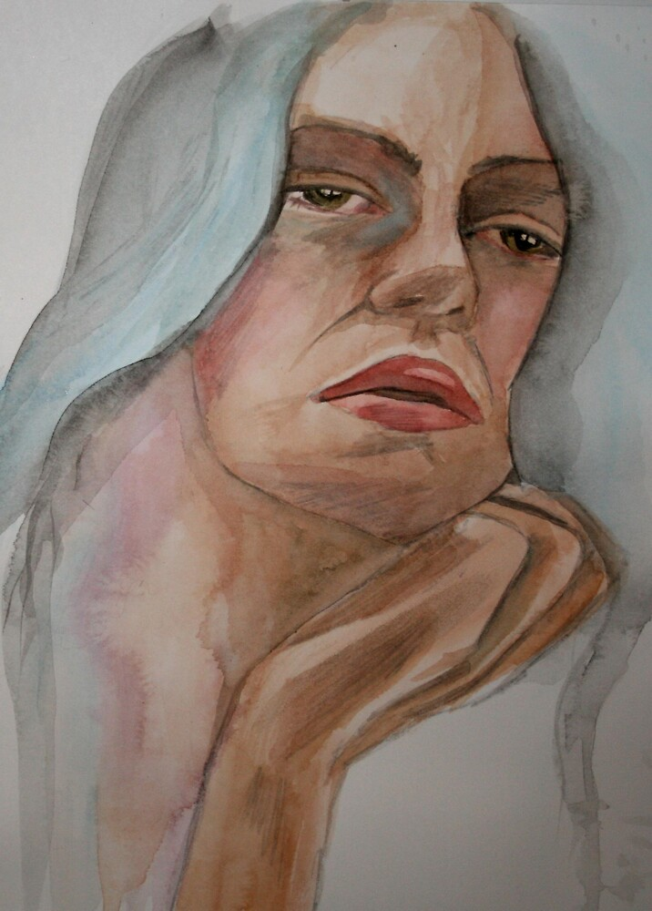 Sad Eyed Lady Of The Lowlands by Katie Young