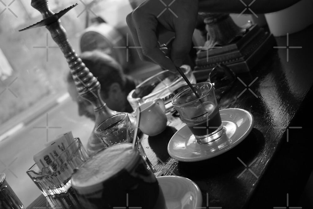Cafe in Neve Sedek by SusannahH