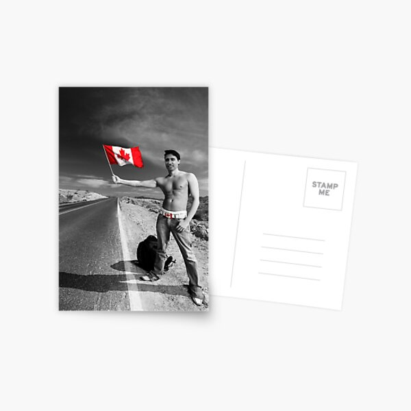 Justin Trudeau: Welcome to Canada Postcard