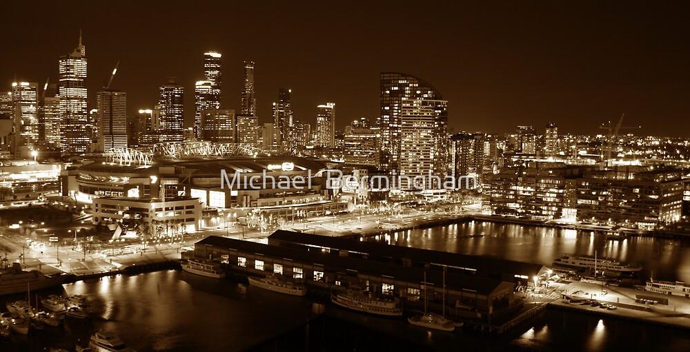 Melbourne City by Michael  Bermingham