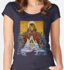 The Labyrinth Women's Fitted Scoop T-Shirt