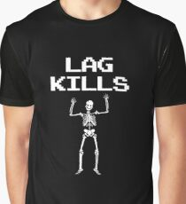 Lag Kills - Gaming Graphic T-Shirt