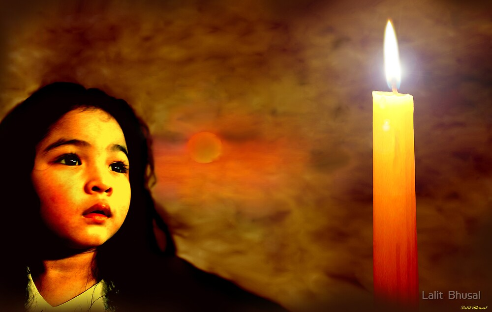 My Candle by Lalit  Bhusal