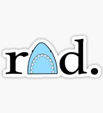 Rad shark Sticker