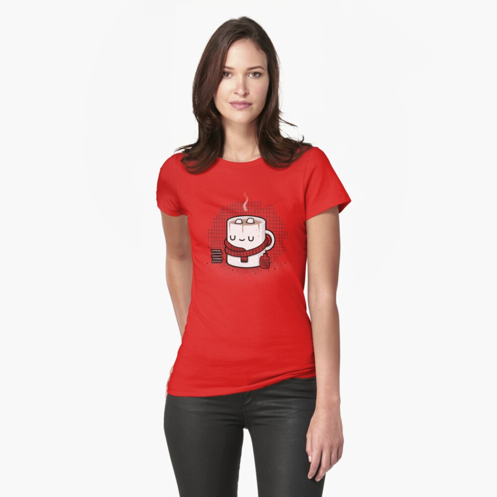 Winter Warmer Fitted T-Shirt