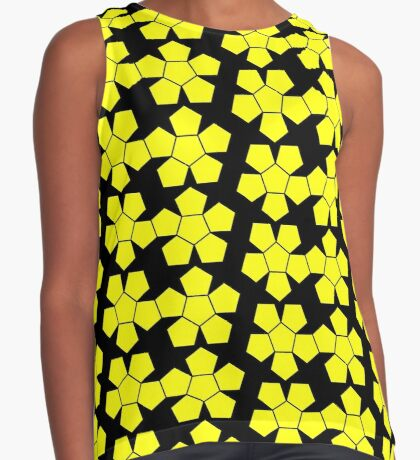 Dodecahedron NetImage  Sleeveless Top