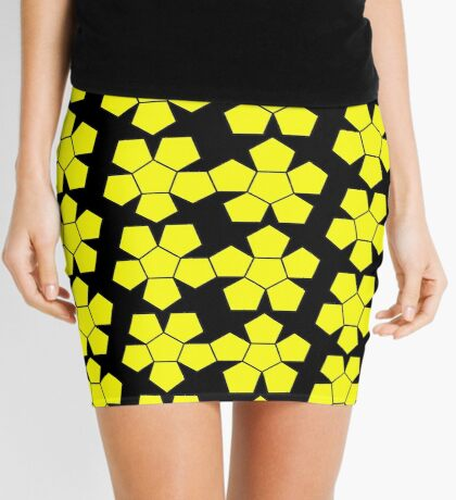 Dodecahedron NetImage  Mini Skirt