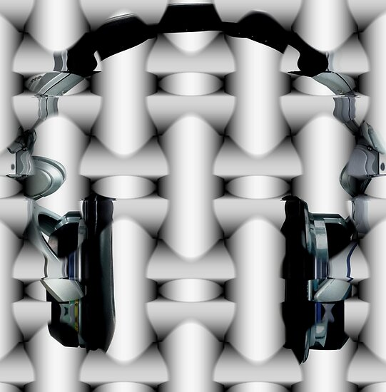 aztec headphones by tinncity