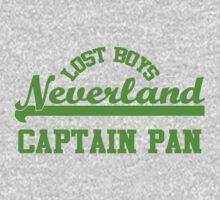 Neverland Lost Boys - Captain Pan | Unisex T-Shirt