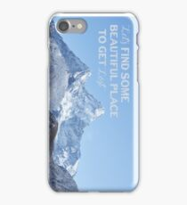 Wanderlust Mountains iPhone Case/Skin