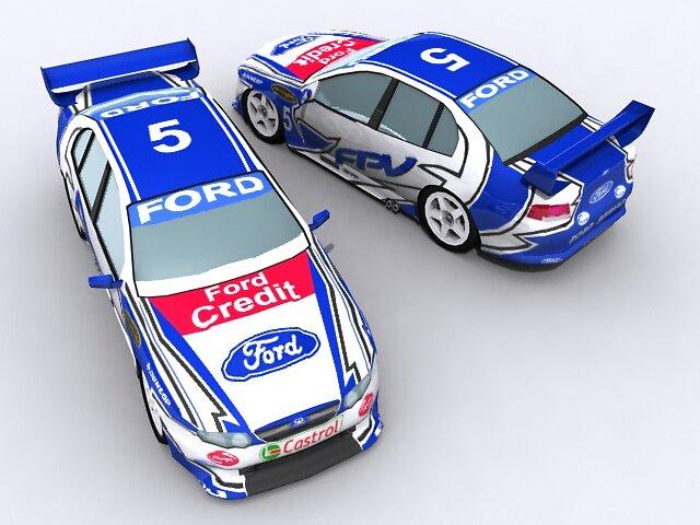 Ford Performance Vehicle V8 Super Car by SenorFreebie