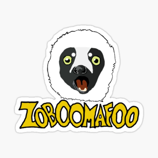 Zoboomafoo Sticker