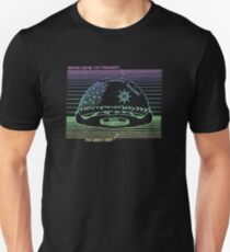 Flat Earth Designs - Geocentric Cosmology Design T-Shirt