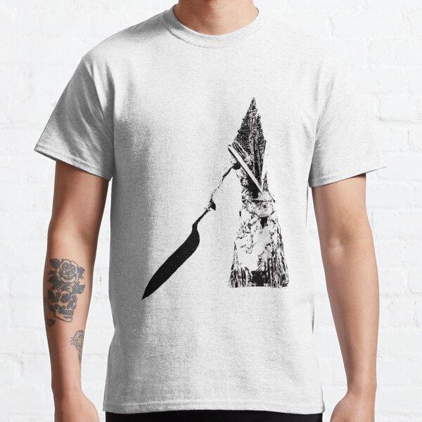 Diese Wiedergabe von Pyramid Head wurde von Hand bis auf außergewöhnliche Details gezeichnet.  Perfekt für Liebhaber von Pyramid Head und Fans der Silent Hill-Serie. Classic T-Shirt