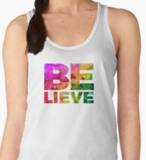 BELIEVE Women's Tank Top