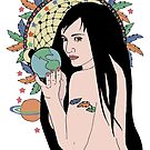 Native Gaia Connections by redqueenself