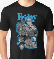 Friday character collage Unisex T-Shirt