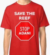 Stop Adani - End Coal Mining in Australia Classic T-Shirt