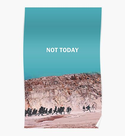 bts not today Poster