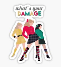 What's Your Damage? - Heathers the Musical Sticker