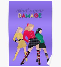 What's Your Damage? - Heathers the Musical Poster