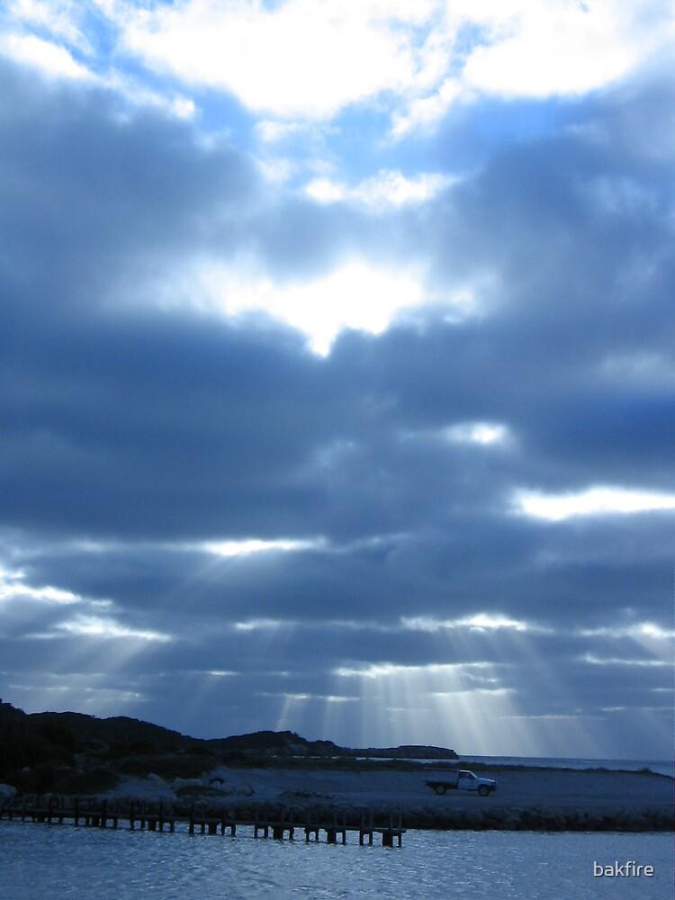 blue dusk by bakfire