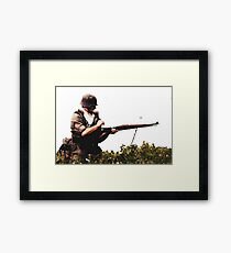 Soldier from WW2 Framed Print