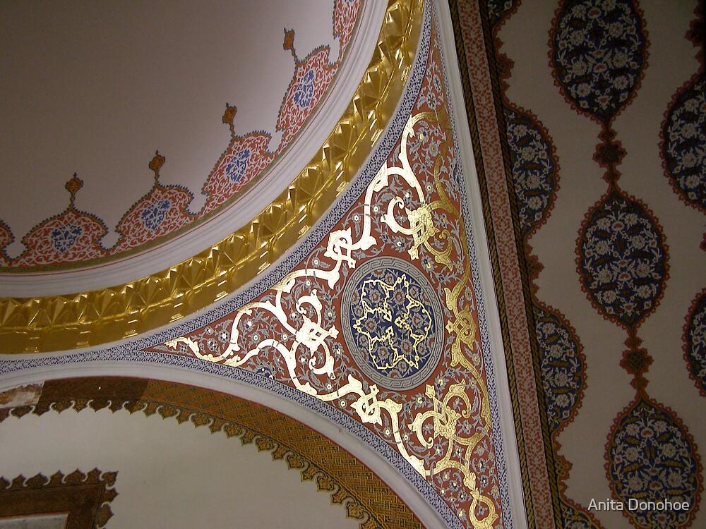 Topkapi Palace Detail by Anita Donohoe