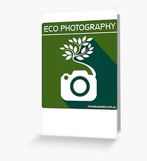 Eco Photography Greeting Card